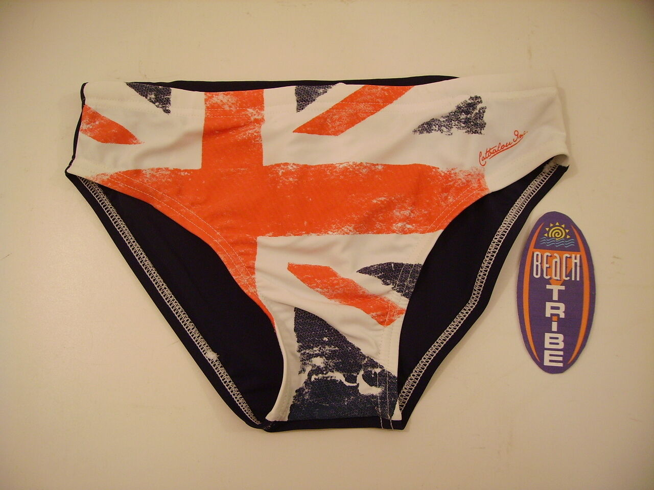 COSTUME SLIP CATBALOU SWIMSUIT BEACH POOLS NORED ENGLAND BIAN blue ROS XL