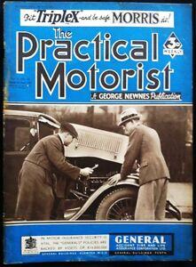 PRACTICAL-MOTORIST-MAGAZINE-MAR-2-1935-HUMBER-SNIPE-TESTED