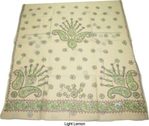 100/% Cotton Lucknow Chikankari Hand Embroidered Saree Sari with Blouse Material
