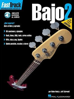 Audio 000695728 Diplomatic Fasttrack Bass Method 2 Spanish Edition Music Instruction Book Musical Instruments & Gear