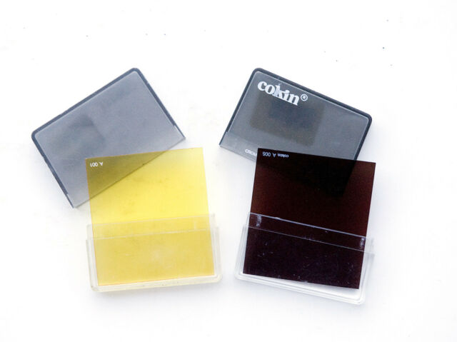 2 Cokin Cromofilters A001 and A005