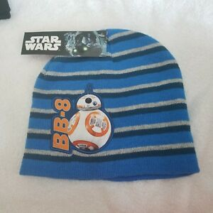 Disney Star Wars BB-8 Knit boys Hat Beanie One Size Fits Most Blue ... 68f9b2d74080