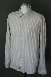 HUGO-BOSS-Mens-CANTOS-1-Striped-Long-Sleeved-SHIRT-Size-Large-L