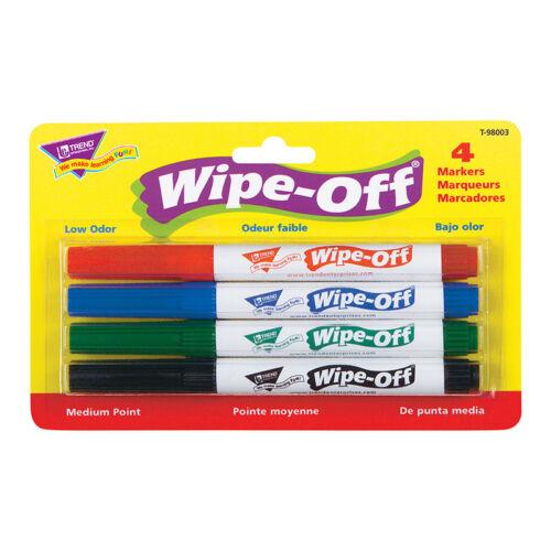 Wipe Off Marker 4 Standard Colors