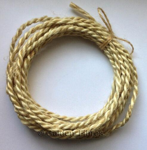 Natural Handmade Braid Jute Burlap Hessian Rustic Ribbon Twine Rope Cord String