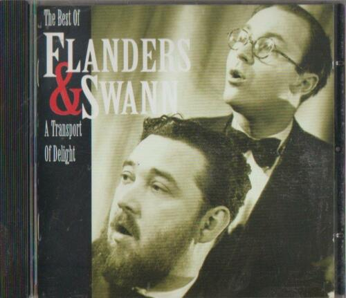 1 of 1 - C.D.MUSIC  D775   THE BEST OF FLANDERS & SWANN : A TRANSPORT OF DELIGHT  CD