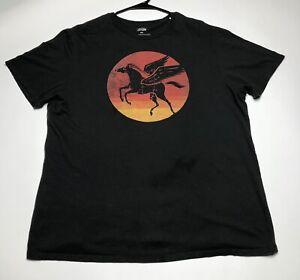 Cremieux-Men-s-XXL-Pegasus-Sunset-Brown-Multicolor-Graphic-Print-T-Shirt-Casual