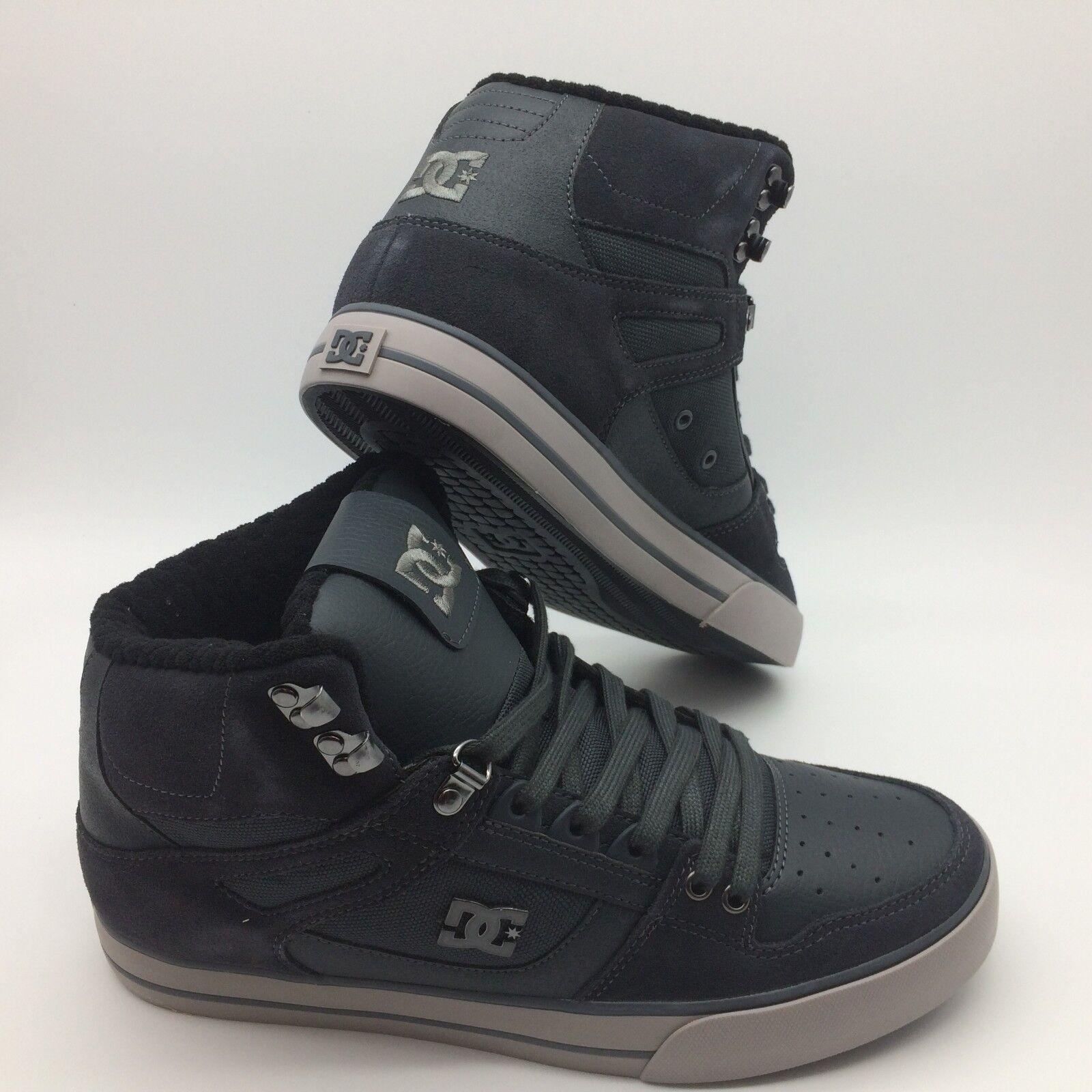 DC Men's shoes  Spartan High WC SE''--Grey Grey