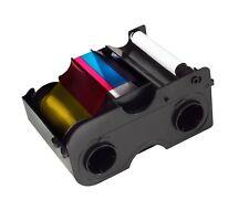 45000` Fargo DTC1000 YMCKO Ribbon Cartridge w// Cleaning Roller