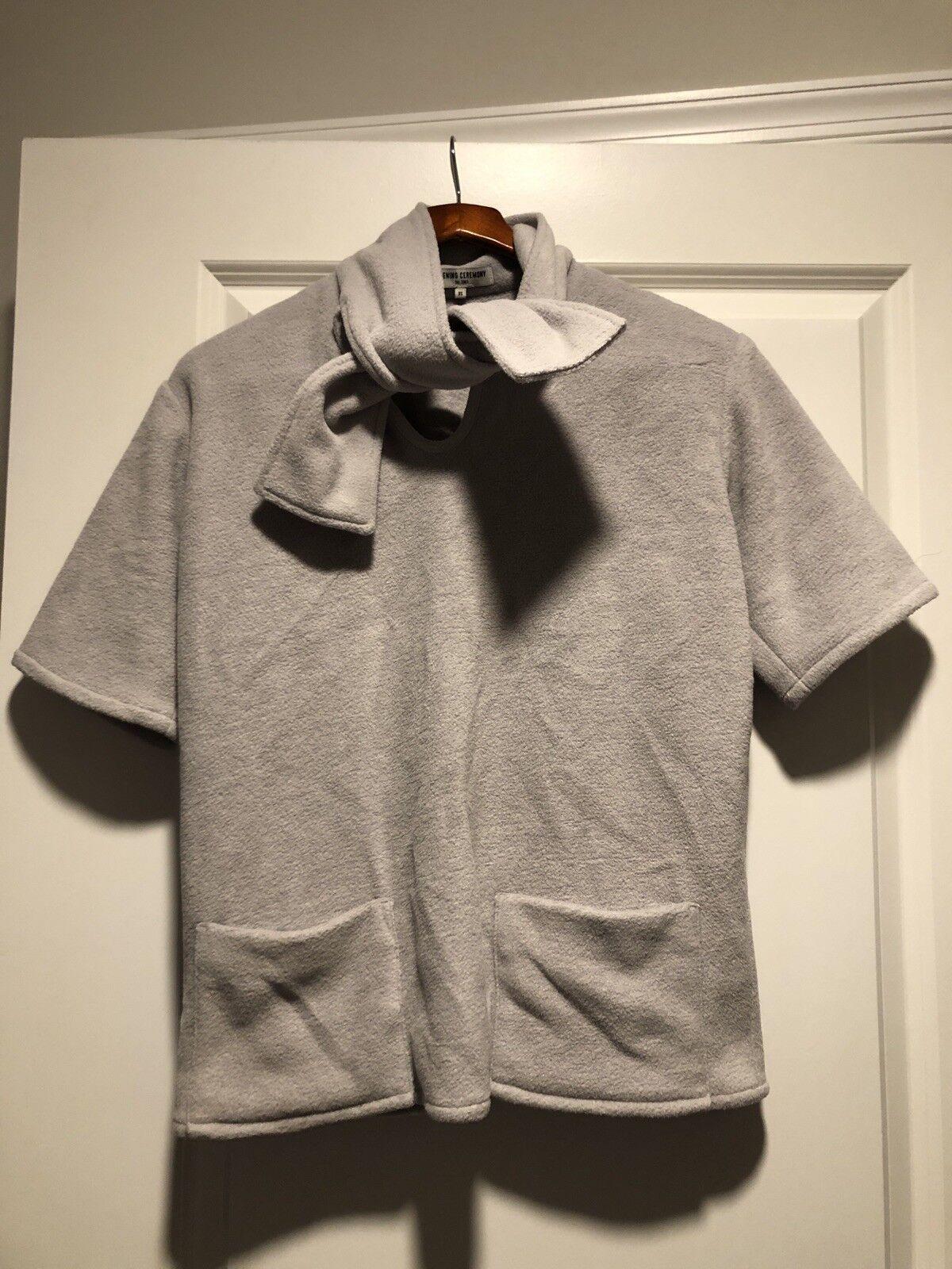 OPENING CEREMONY grau Ribbon Sweatshirt damen Größe  XS (GREAT CONDITION   )