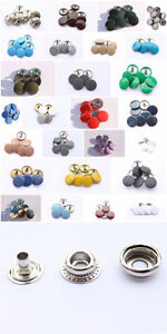 10-100-Sets-of-15mm-Large-Press-Studs-Snap-Fastners-27-different-colours-caps