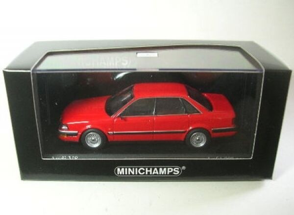 Audi V8 (Tornado Red) 1988
