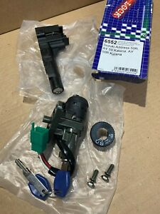 NOS-Suzuki-AY50-Katana-Address-Vicma-Ignition-Switch-amp-Seat-Lock-VIC-6552-6-wire