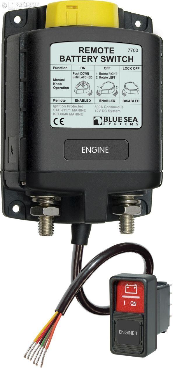 Blau SEA - Fernsteuerbarer Fernsteuerbarer Fernsteuerbarer Batterie-Hauptschalter - 12V f81d49
