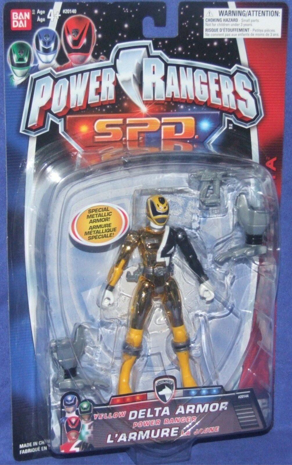 Power Rangers SPD Metallic Armor Gelb 5
