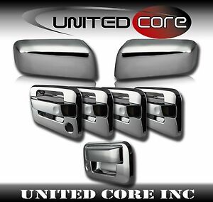 Ford-F150-Chrome-Mirror-Cover-Chrome-4-Door-Handle-Cover-Chrome-Tailgate-04-08