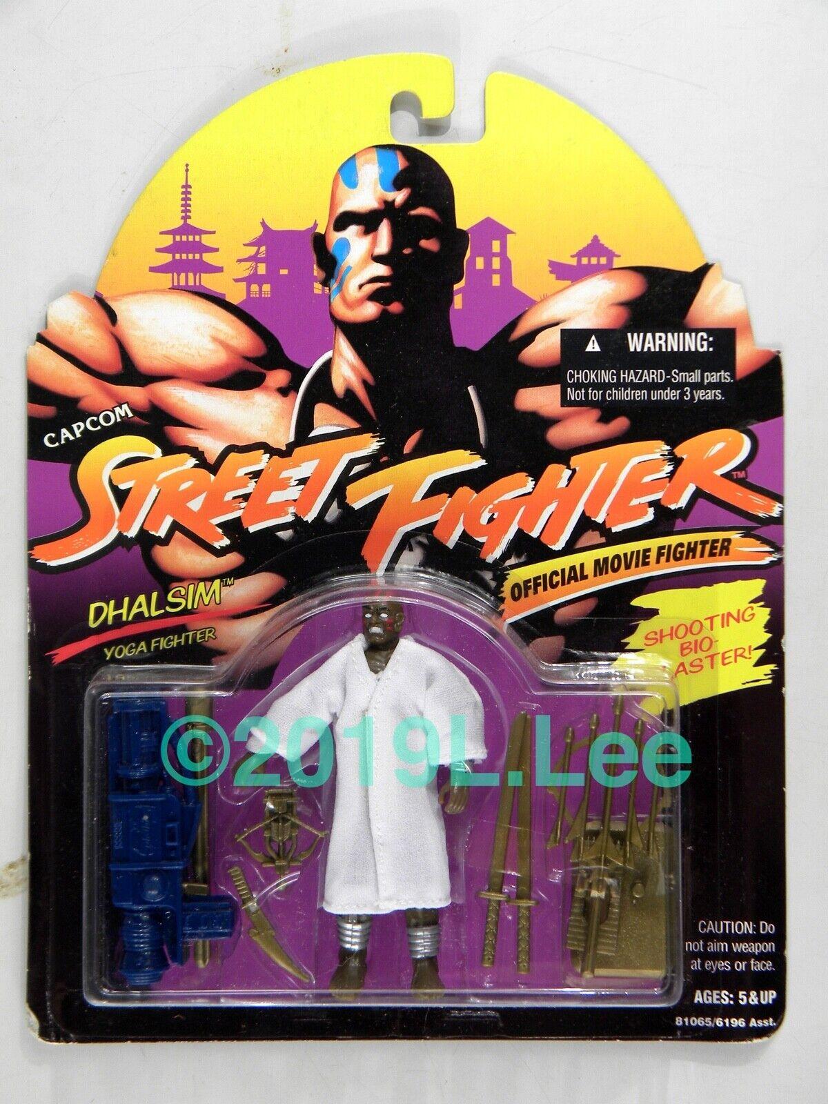 Hasbro 1994 GI Joe ARAH Street Combatiente Dhalsim Official Movie Movie Movie edizione c-7+ 09b50b