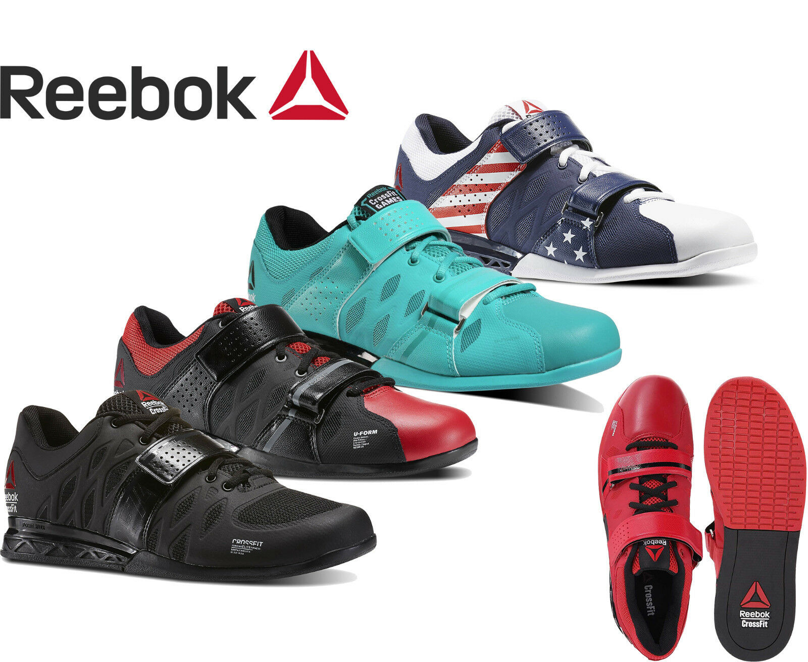Reebok Crossfit Lifter Mens Crossfit shoes Weightlifting shoes  NEW  new listing