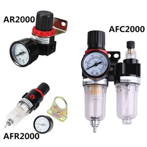 AR-2000 Air Source Compressor Adjustable Pressure Regulator Reduction Valve