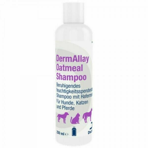 Dermallay Oatmeal Shampoo For Cats And Dogs 230ml For Sale Online Ebay