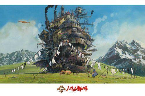 New Ensky Jigsaw Jigsaw Ensky Puzzle 1000-258 Howl's Moving Castle Studio Ghibli JP cd10b1
