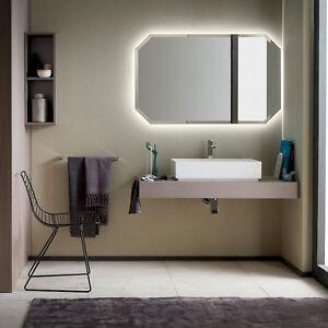 T125 07 – Mobile arredo bagno sospeso L 25+120 cm personalizzabile ...