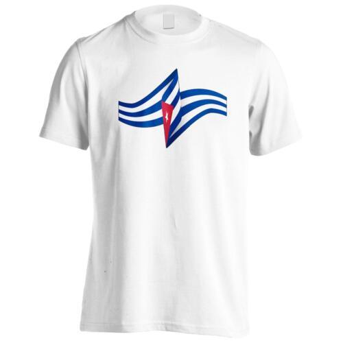 Nouveau Cuba Drapeau Art Tee-Shirt Homme//Tank Top m122m
