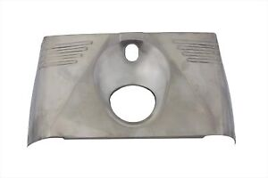 Front-Triple-Tree-Cover-Stainless-Steel-for-Harley-Touring-FLH-Models-1949-1959
