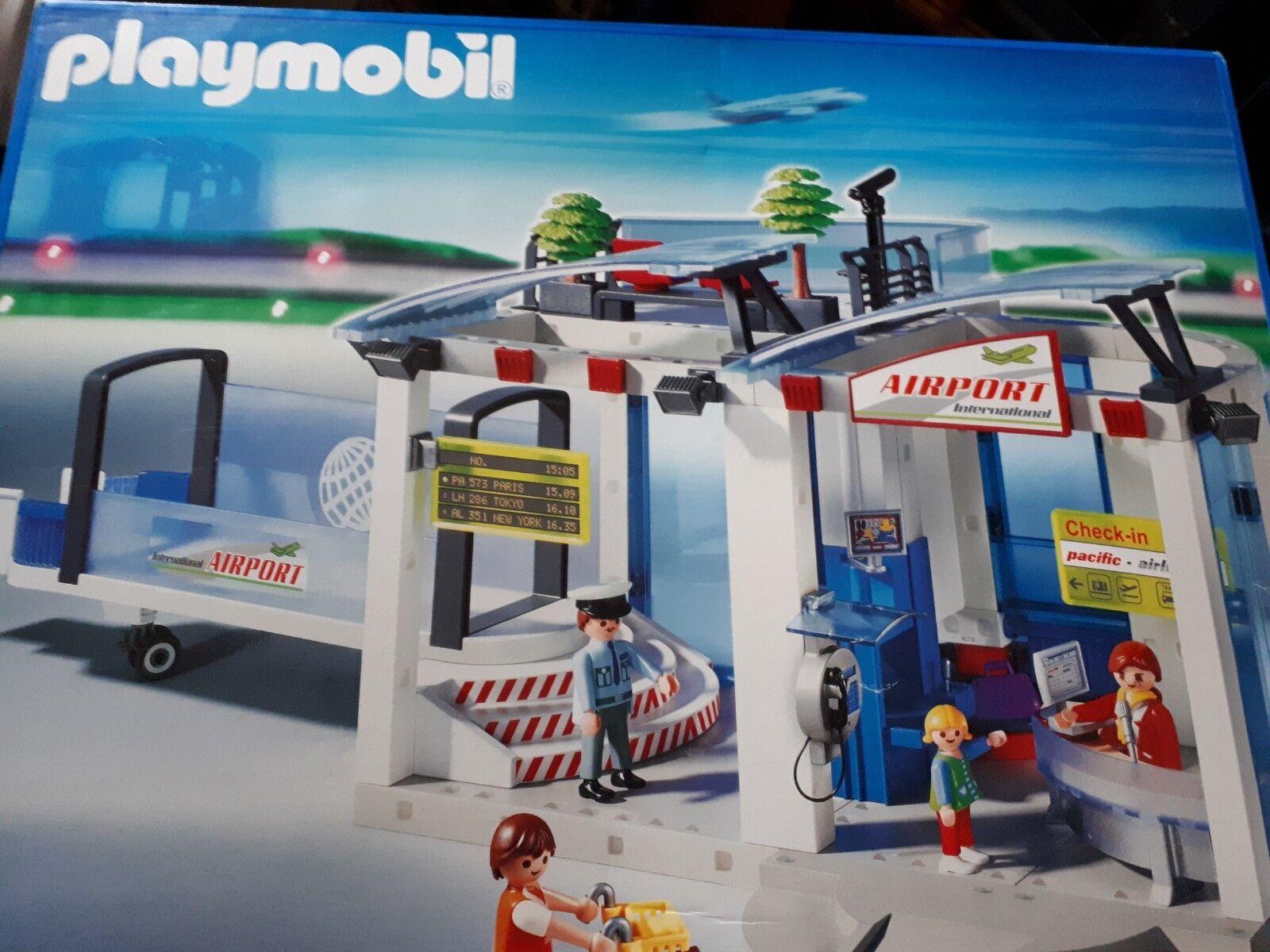 Playmobil 4311 Flughafen Citylife Weihnachten Geschenk Spielzeug