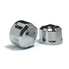 Ciro Chrome Diamond-Cut Crown Bolt Cap Set For Harley Twim Cam - 70003