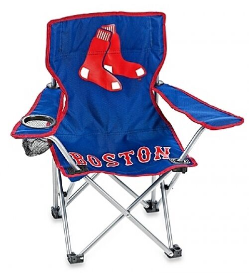 Astounding Boston Red Sox Childrens Camp Chair Folding Camping Outdoor Portable Chair New Dailytribune Chair Design For Home Dailytribuneorg