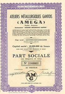 Ateliers-Metallurgiques-Gantois-SA-accion-1962-Siege-Gentbrugge
