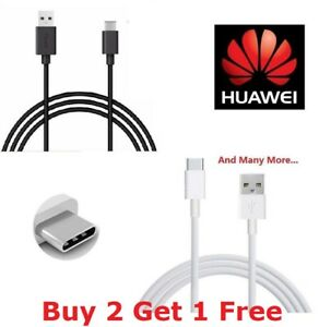 For-Huawei-P20-Lite-Pro-P10-Type-C-USB-C-Sync-Charger-Charging-Cable-Lead