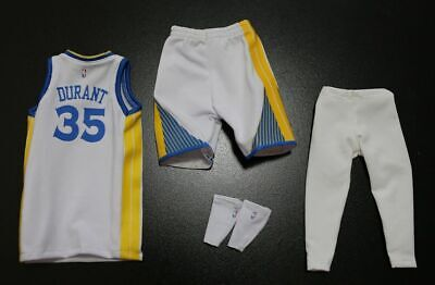 Custom 1//6 USA TEAM Kevin Durant jersey 5 35 NBA TOYs home Golden State Warriors