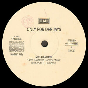 VARIOUS-MC-HAMMER-KIM-APPLEBY-BOBBY-MCFERRIN-Only-For-Dee-Jays