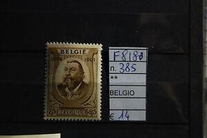 FRANCOBOLLI-BELGIO-NUOVI-N-385-F8180
