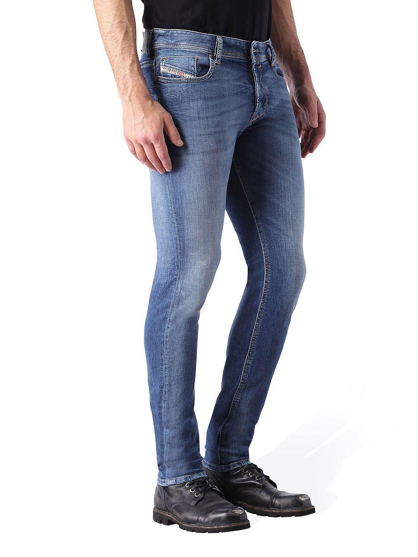 Diesel Sleenker 084BE_Elasticizzato Jeans Pantaloni men Magro Magro