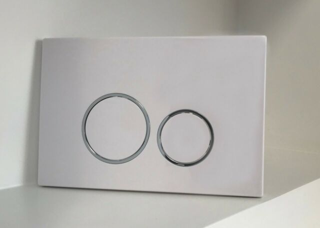low priced 2cef3 23740 Flush Plate for Geberit UP320 UP720 12cm & 8cm Sigma Cisterns