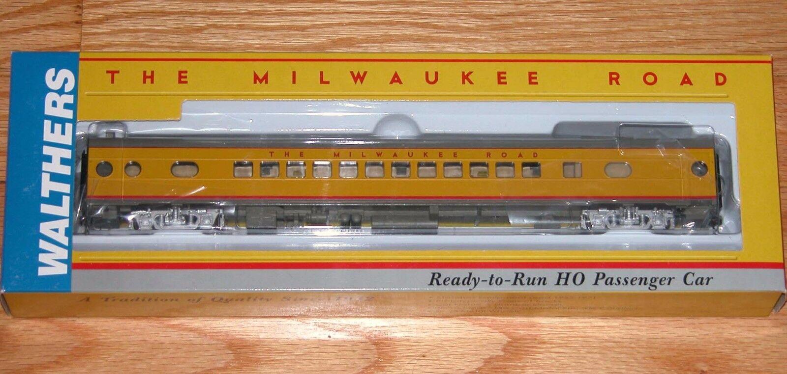 Walthers 932-9302 Hiawatha Amarillo esquema Milwaukee Road 52 asiento entrenador 498 Series