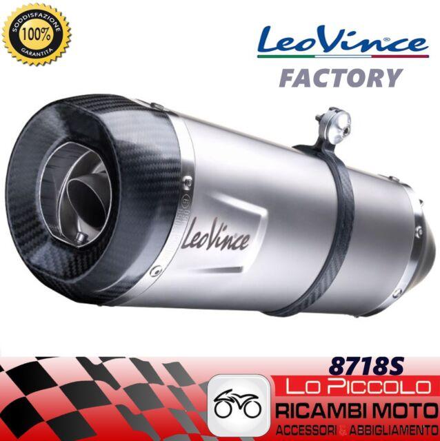 Leovince Tubo de Escape - Factory S Kawasaki ZZR1400 Año 12 -15 Inoxidable