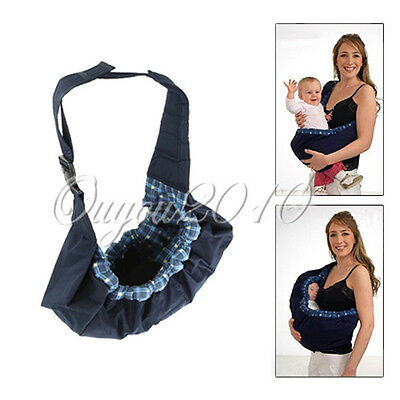 Newborn Infant Baby Toddler Native Cradle Pouch Ring Sling Carrier Front Bag