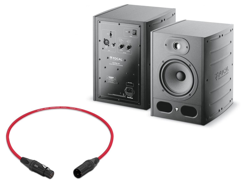 Focal Alpha 65 Studio MonitorSingle MonitorAudio LA
