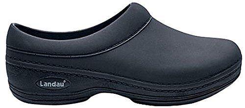 Landau Comfort Work Shoes Black color Sizes 5 to 13 for men /& Women
