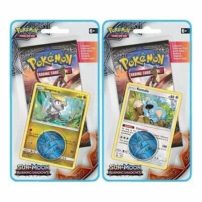 Pokemon S/&M Burning Shadows FACTORY SEALED 16-Pack BLISTER Booster Box Promo Pokemon Mystery box pack Us