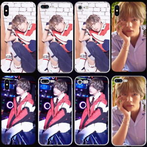 Kpop Bts Bangtan Boys V Soft TPU Phone Case Cover For iPhone X 6 6s 6 7 8 Plus