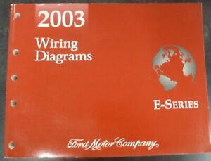 2003 Ford E450 Super Duty Cutaway Electrical Wiring ...