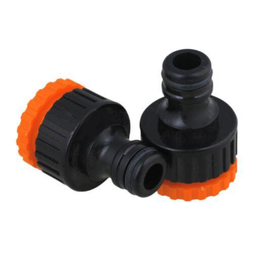 5x Plastic Female Thread Faucet Fitting Garden Hose Quick Connector Irrigation
