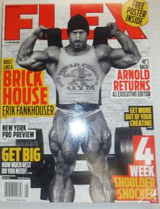 Flex Magazine Erik Fankhouser & Arnold Returns May 2013 ...  Erik
