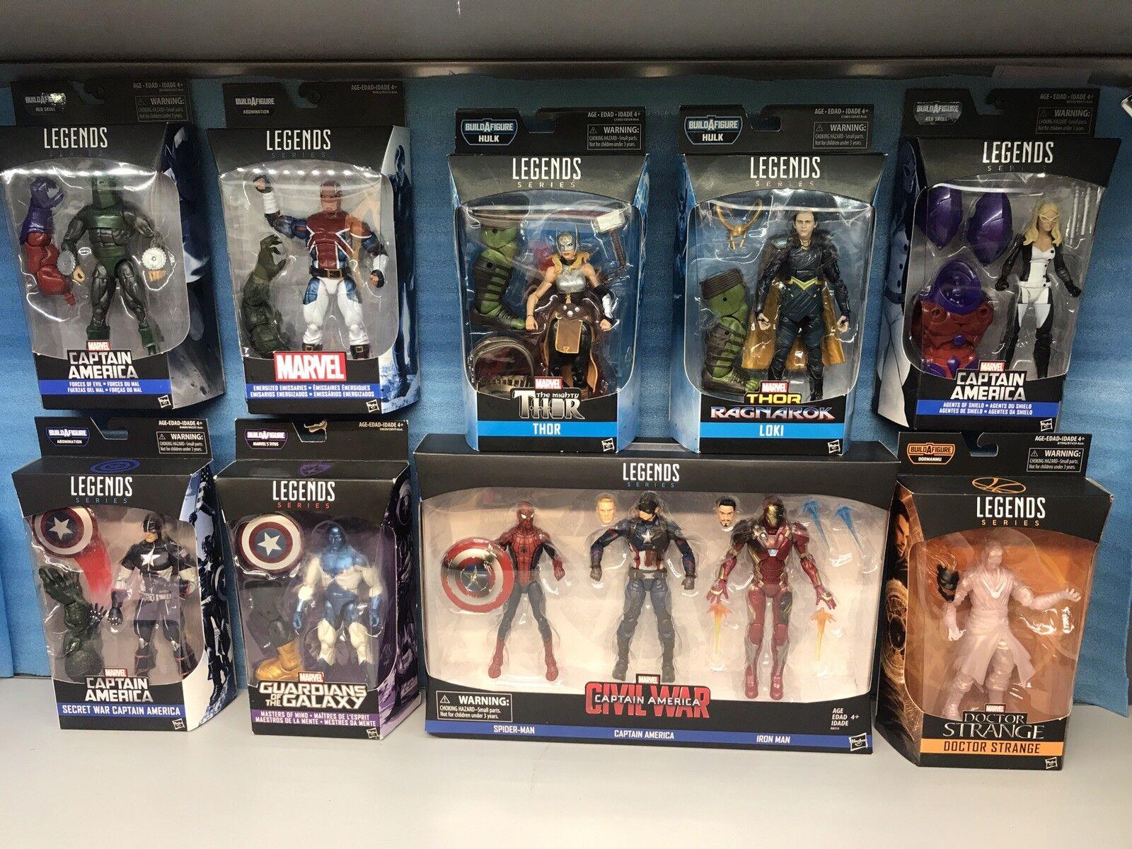 Marvel - legenden.spider - man, captain, iron man, loki, seltsam, und mehr.neue