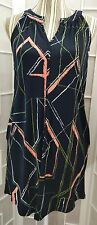 NWT Banana Republic Petite Exclusive S Split Scoop Neck Sleeveless Knee Length.